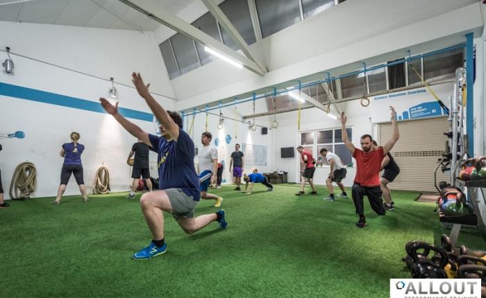 Wir waren das erste Gym in Deutschland mitKunstrasen